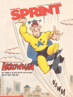 Scholastic Sprint with Don Martin Cover Artwork #12 • USA