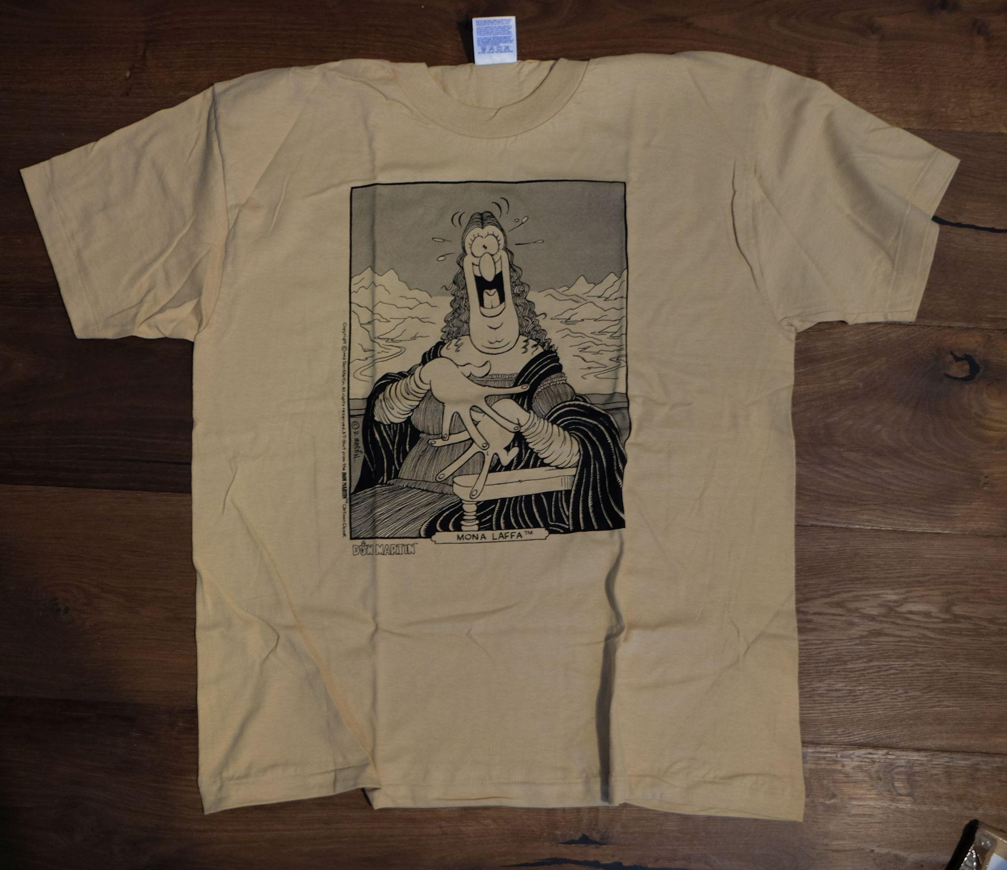 T-Shirt Don Martin Mona Lisa Caricature • USA