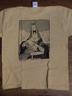 Go to T-Shirt Don Martin Mona Lisa Caricature • USA