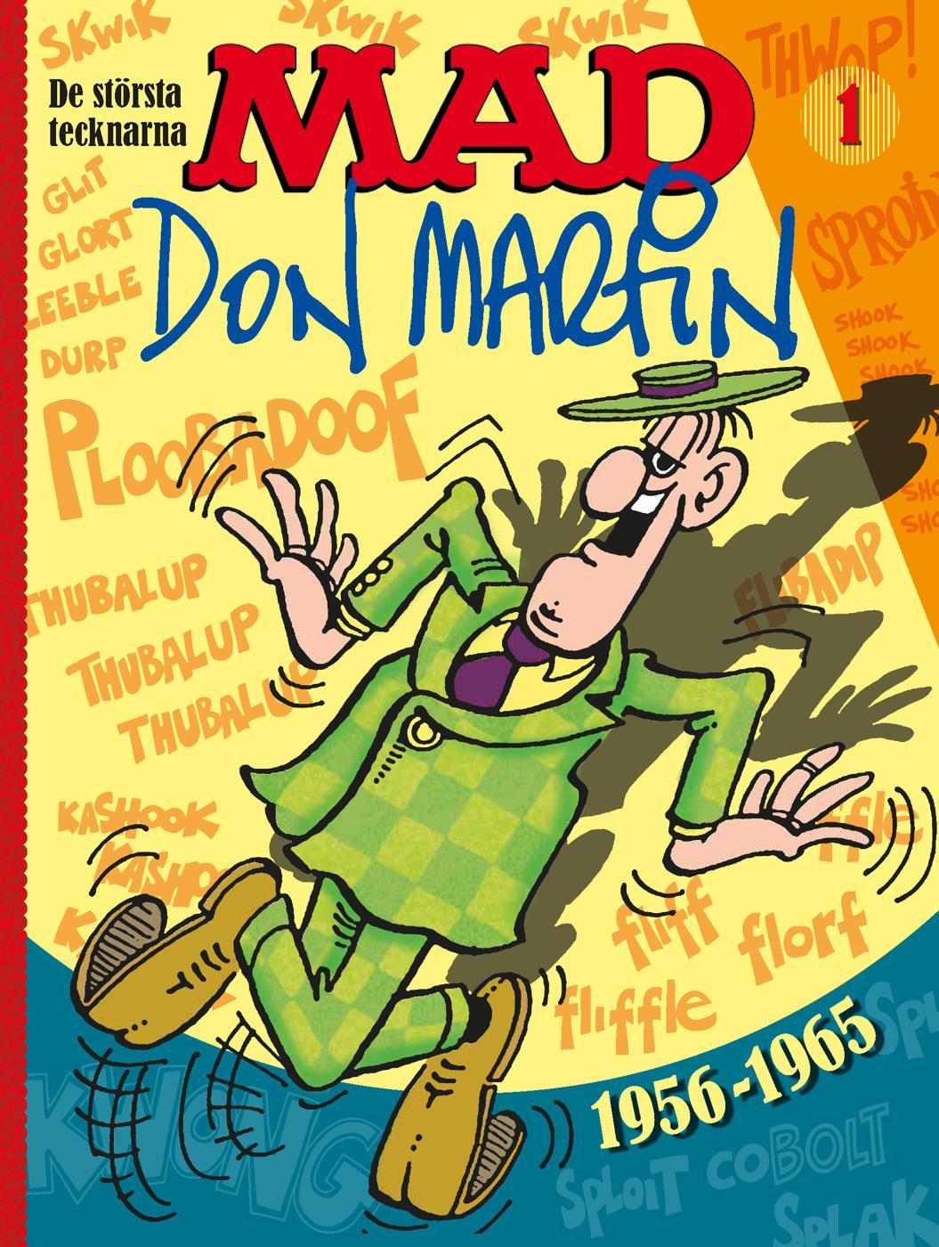 MAD De största tecknarna Vol 1, Don Martin 1956-1965 #1 • Sweden