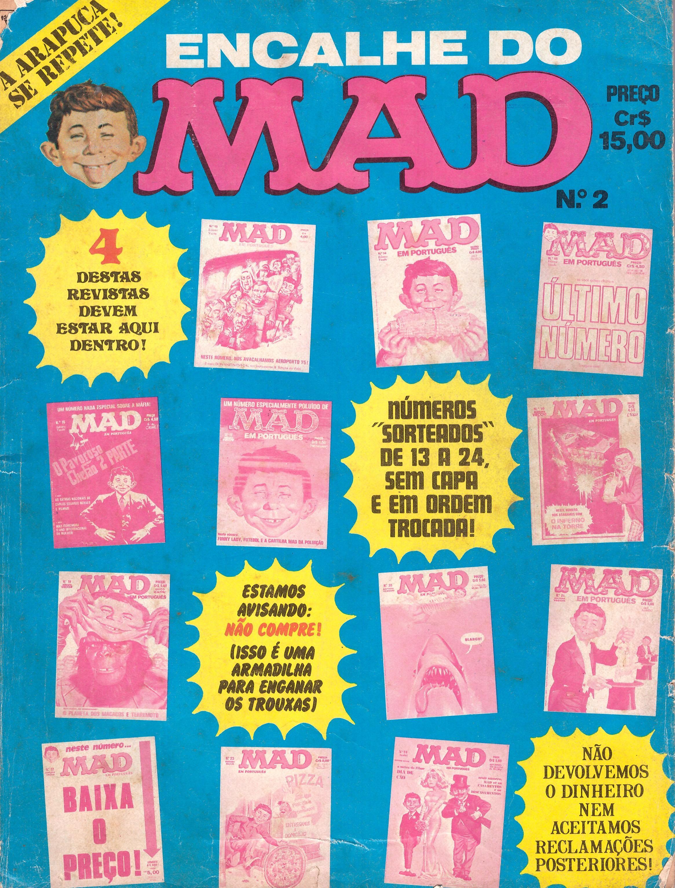 Encalhe do MAD (Vecchi) #2 • Brasil • 1st Edition - Veechi