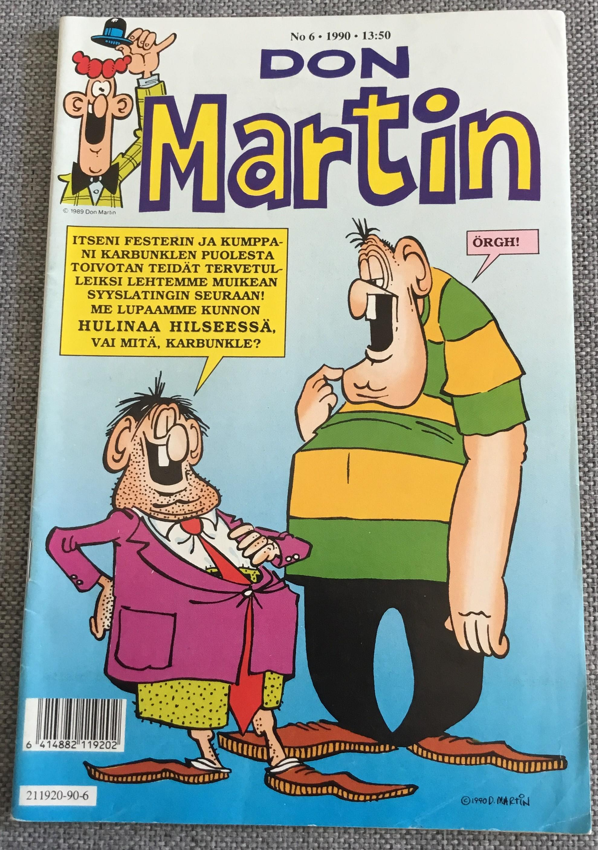 Finnish Don Martin Comic #6 • Finland