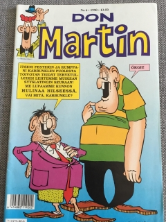 Go to Finnish Don Martin Comic #6 • Finland