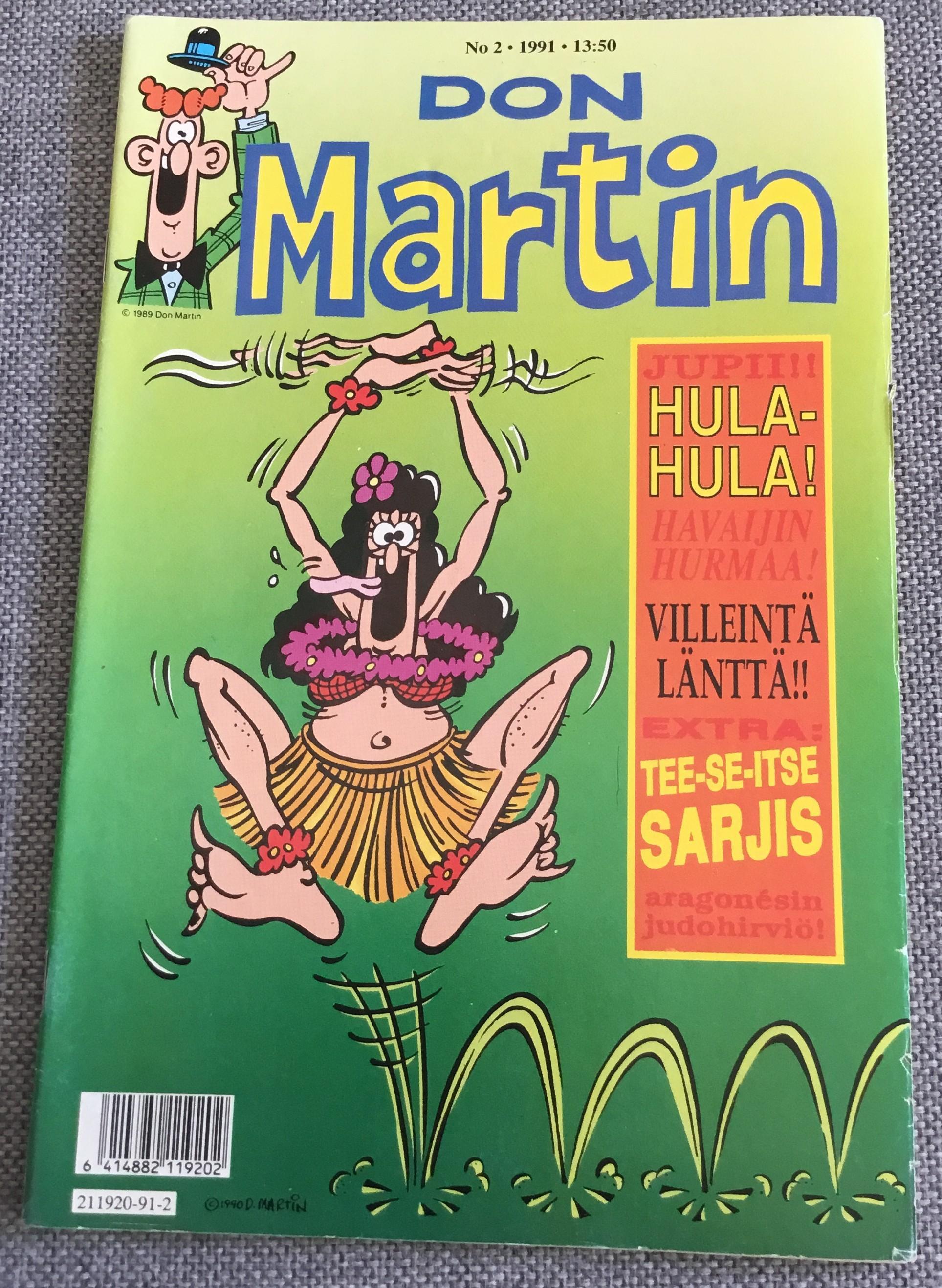 Finnish Don Martin Comic #2 • Finland