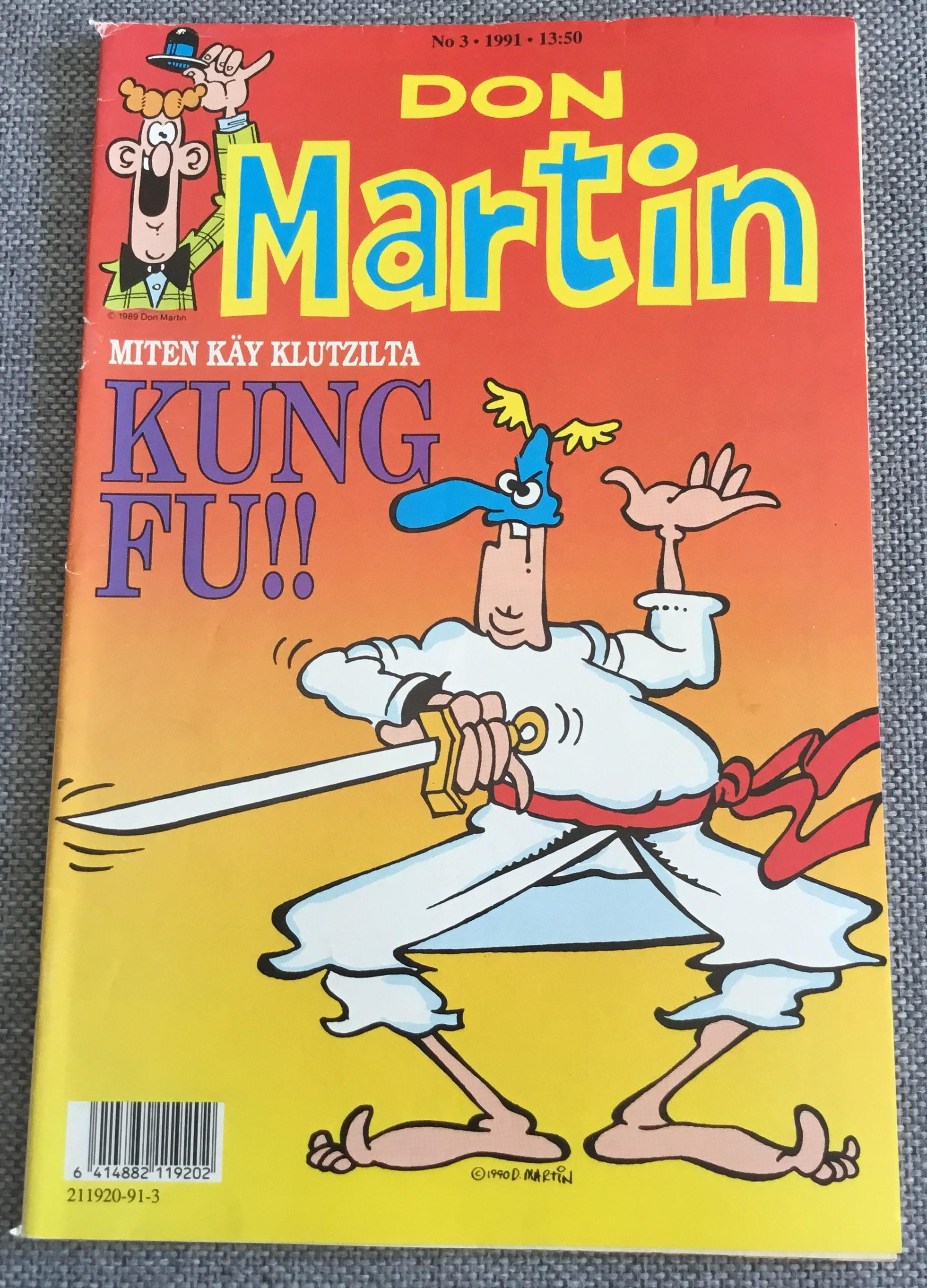 Finnish Don Martin Comic #3 • Finland