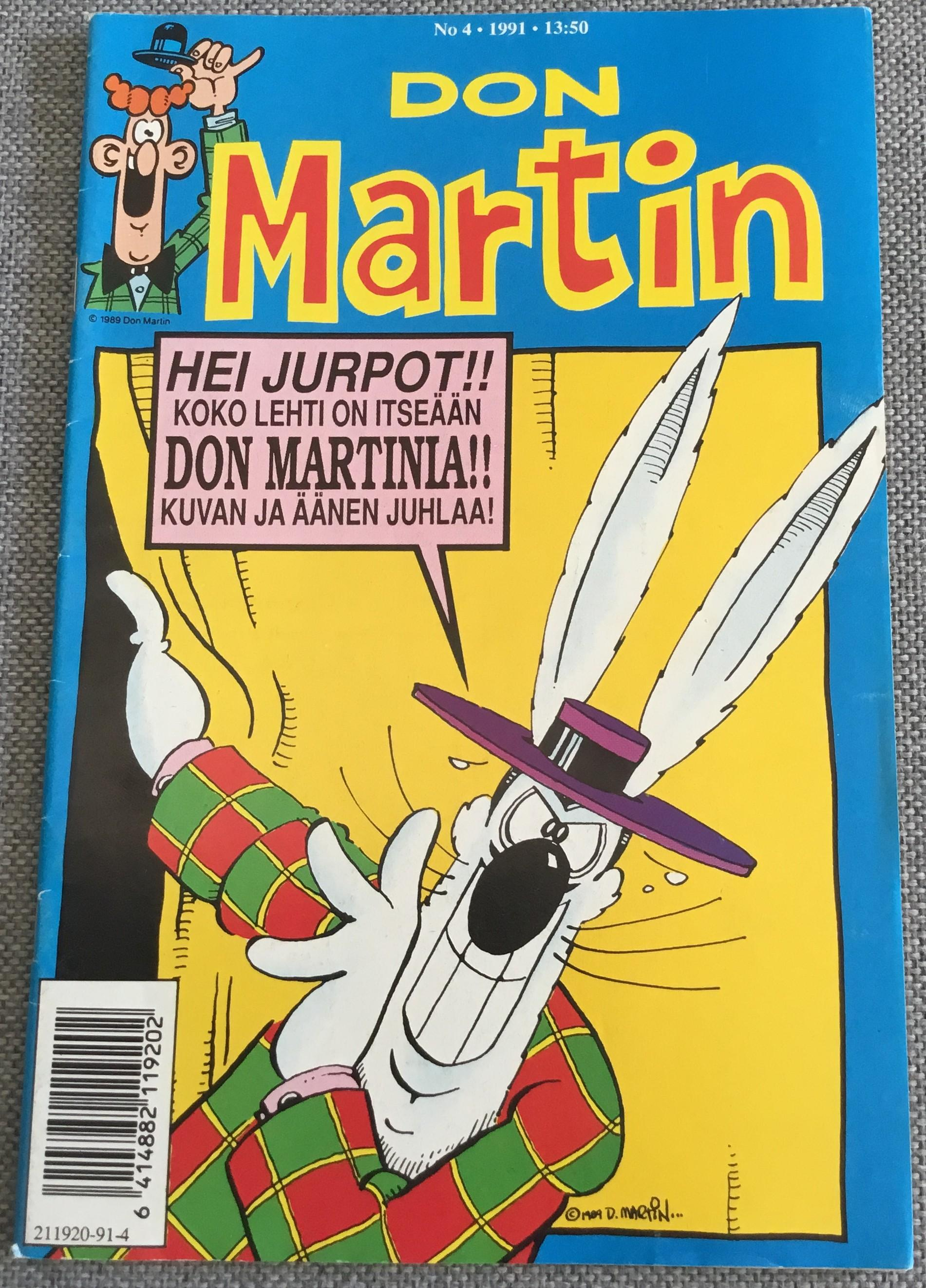 Finnish Don Martin Comic #4 • Finland