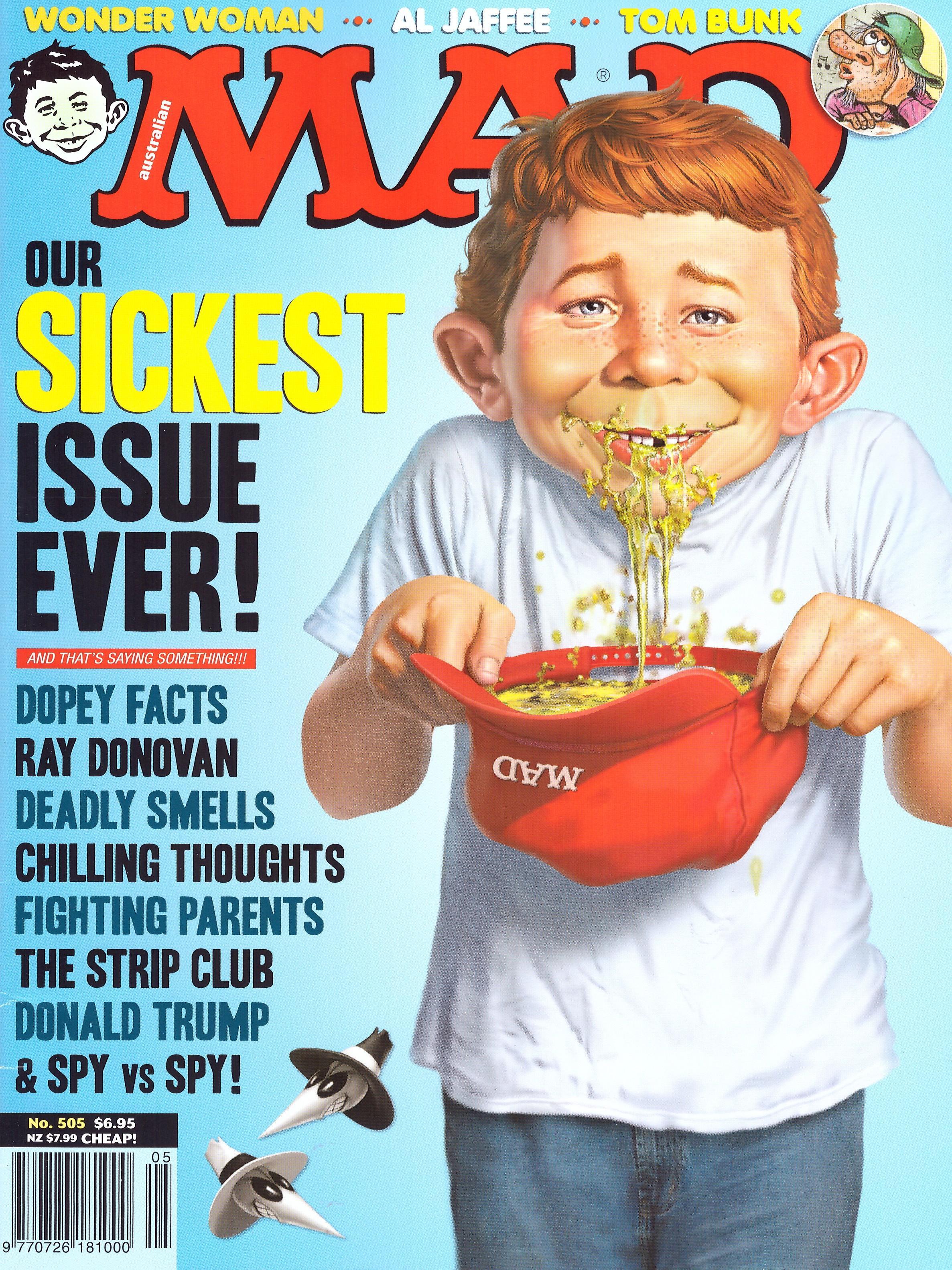 MAD Magazine #505 • Australia