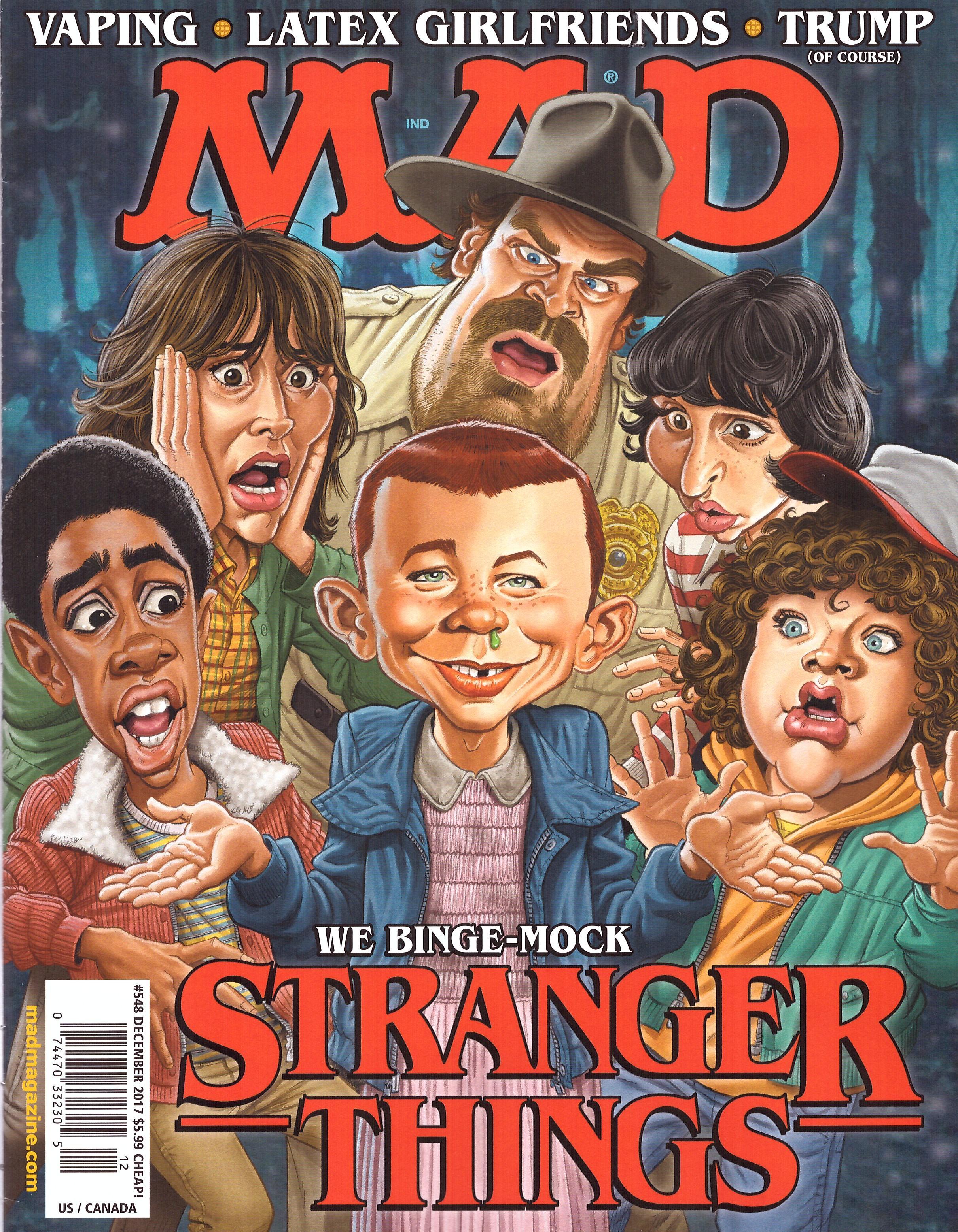 MAD Magazine #548 • USA • 1st Edition - New York