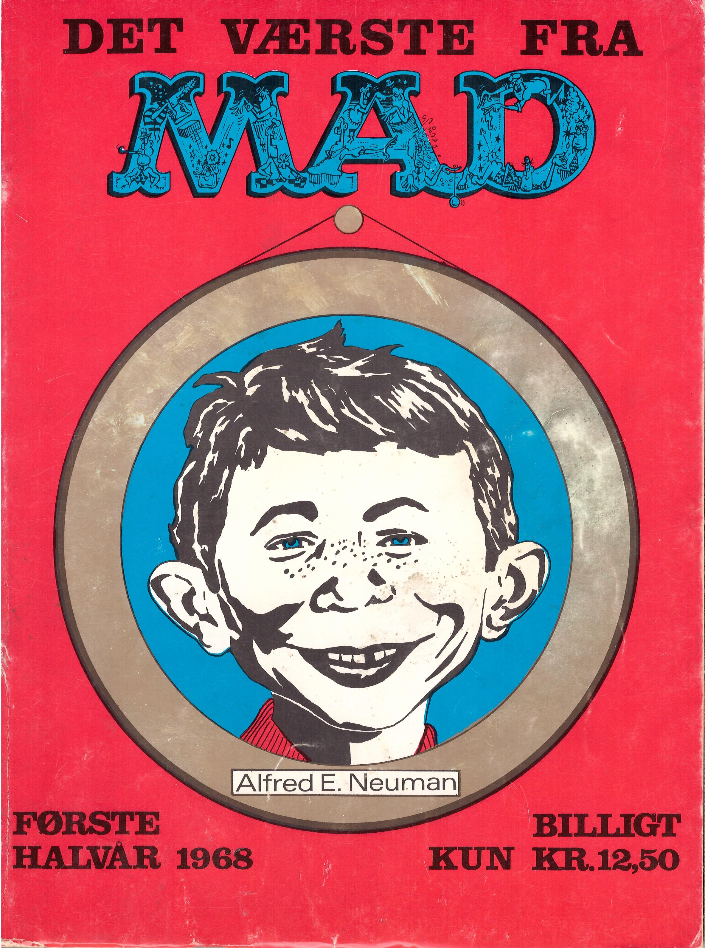 Det Vǽrste Fra Mad 1968 #1 • Denmark • 1st Edition - Williams