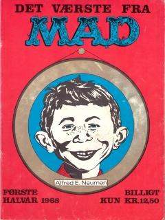 Go to Det Vǽrste Fra Mad 1968 #1 • Denmark • 1st Edition - Williams