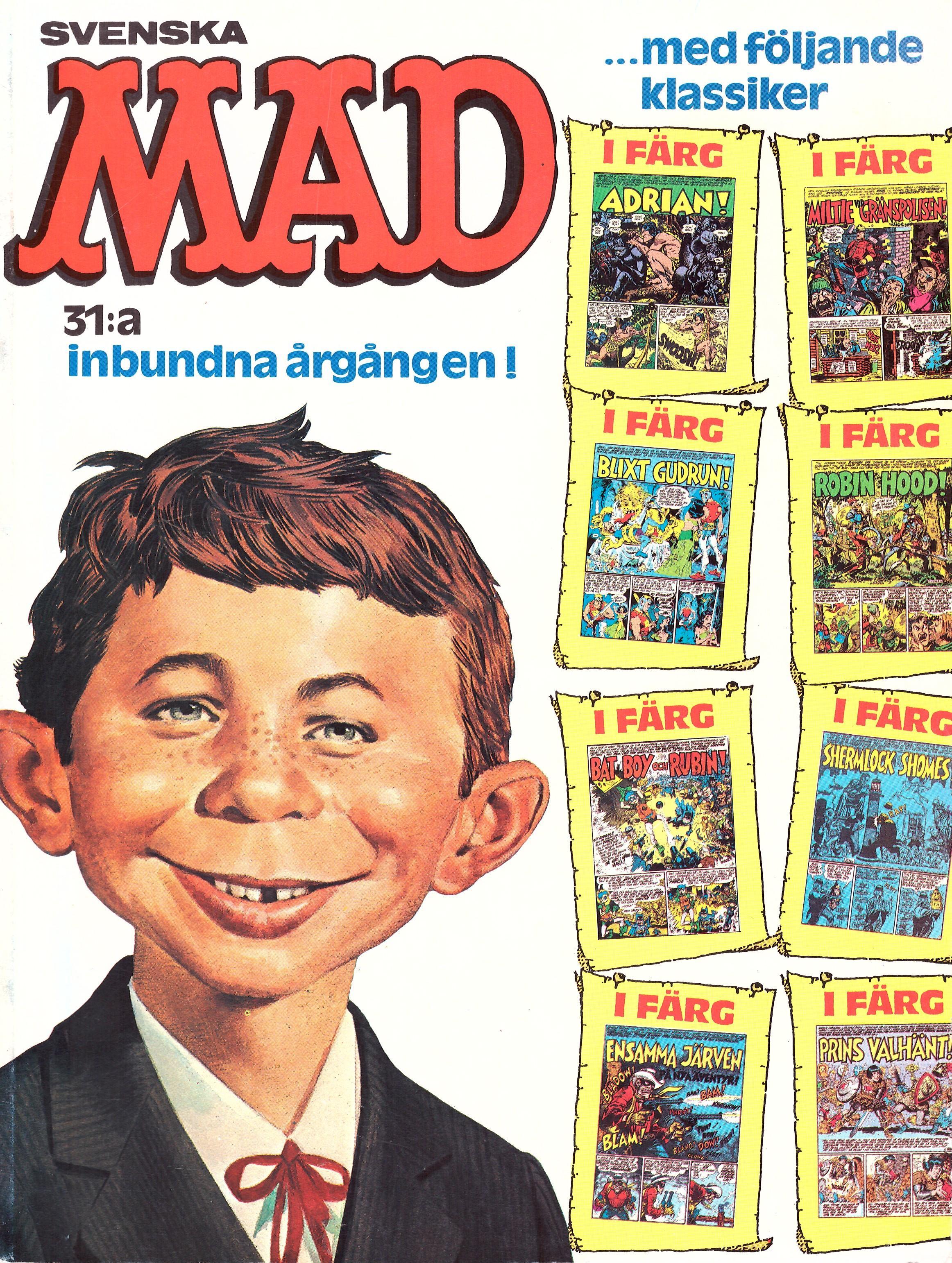 MAD Inbundna årgång #31 • Sweden