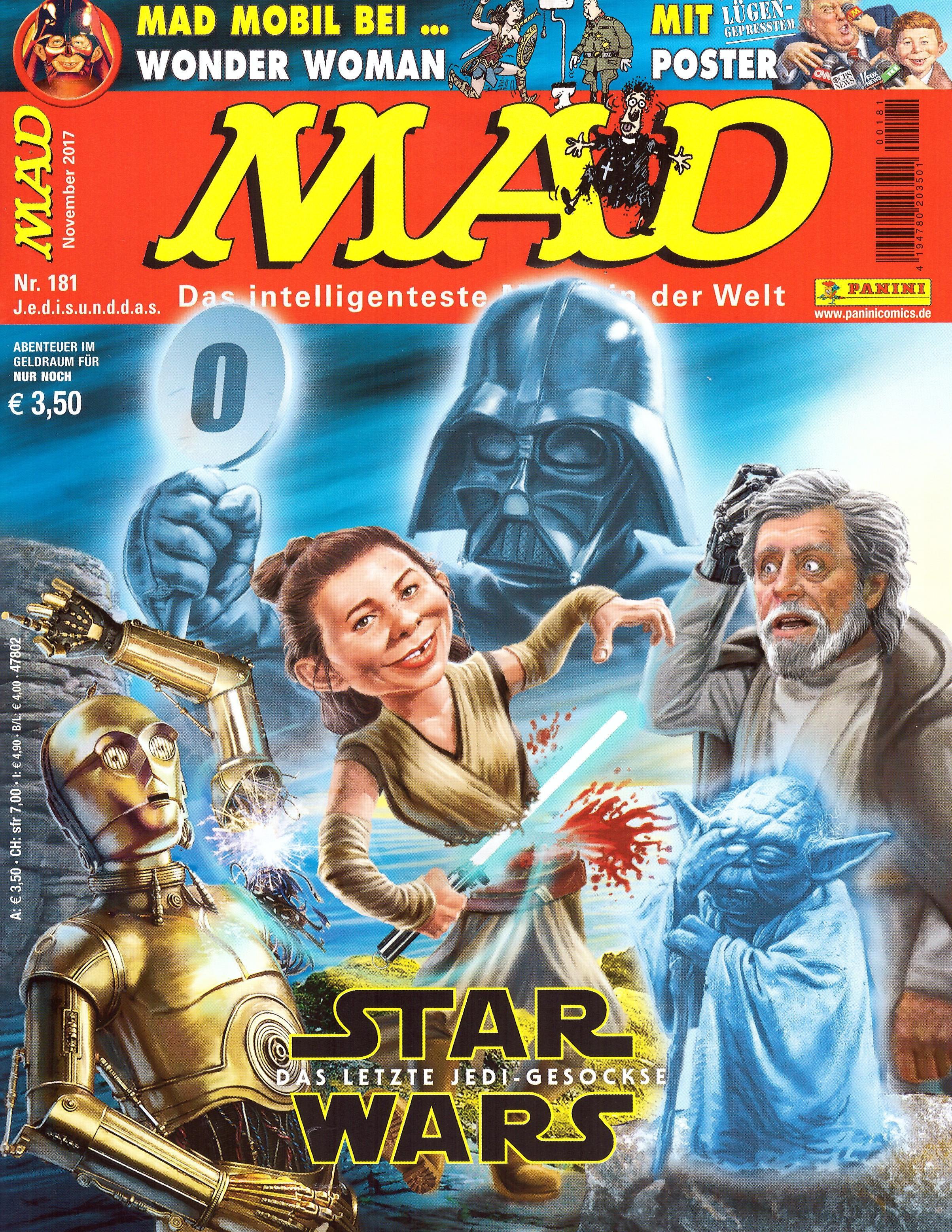 MAD Magazine #181 • Germany • 2nd Edition - Dino/Panini
