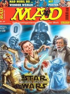 Go to MAD Magazine #181 • Germany • 2nd Edition - Dino/Panini