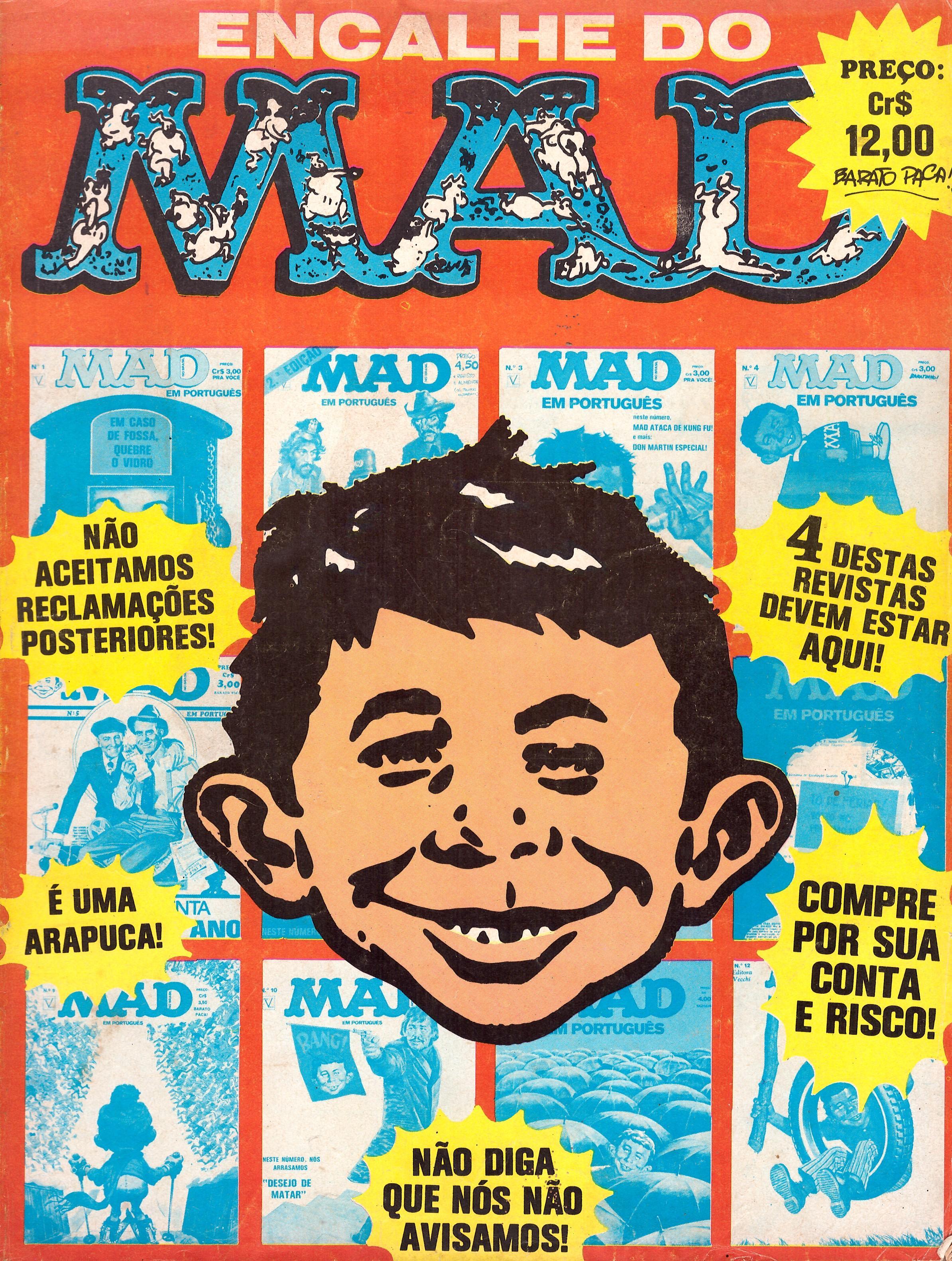 Encalhe do MAD (Vecchi) #1 • Brasil • 1st Edition - Veechi