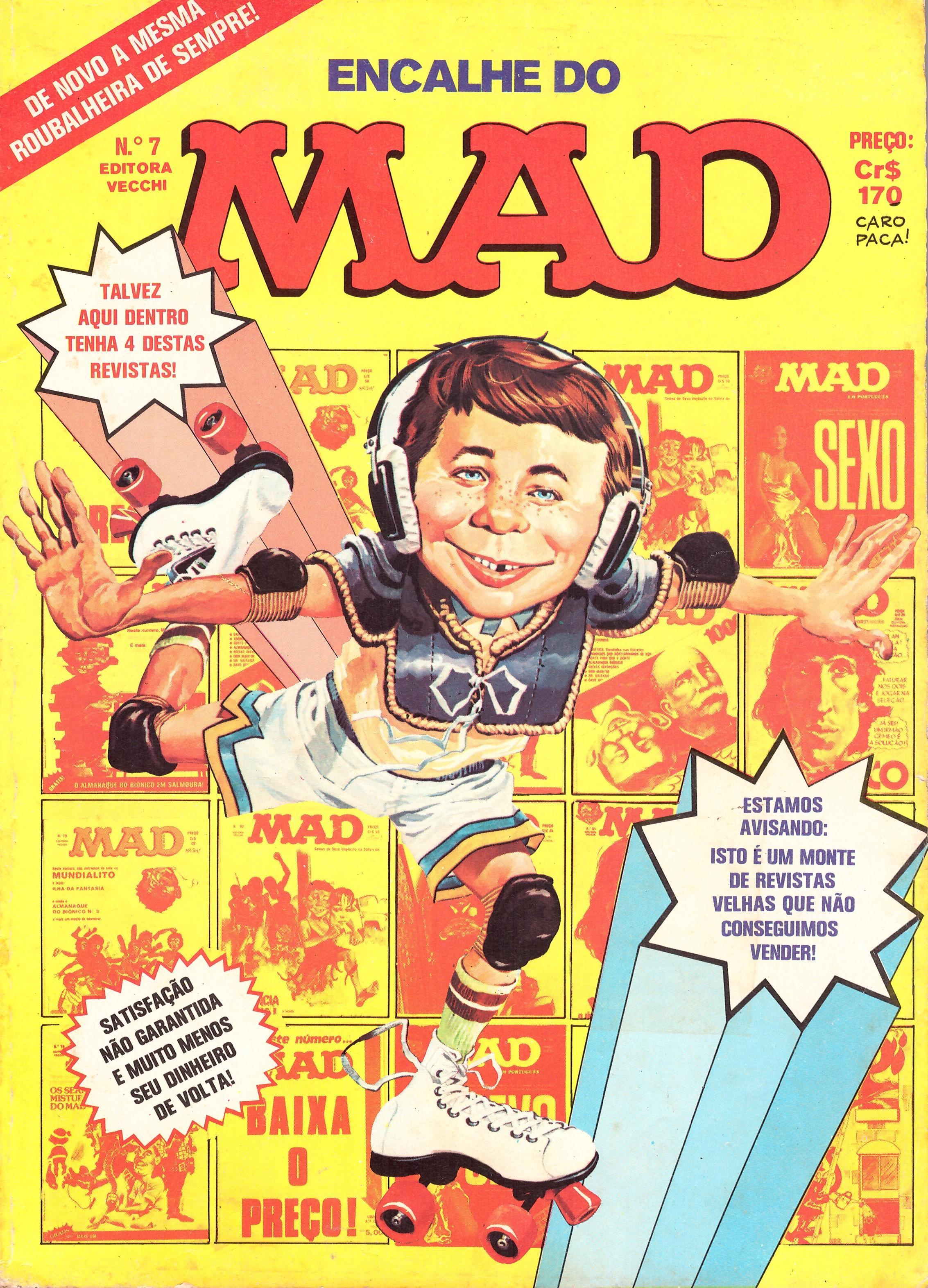 Encalhe do MAD (Vecchi) #7 • Brasil • 1st Edition - Veechi