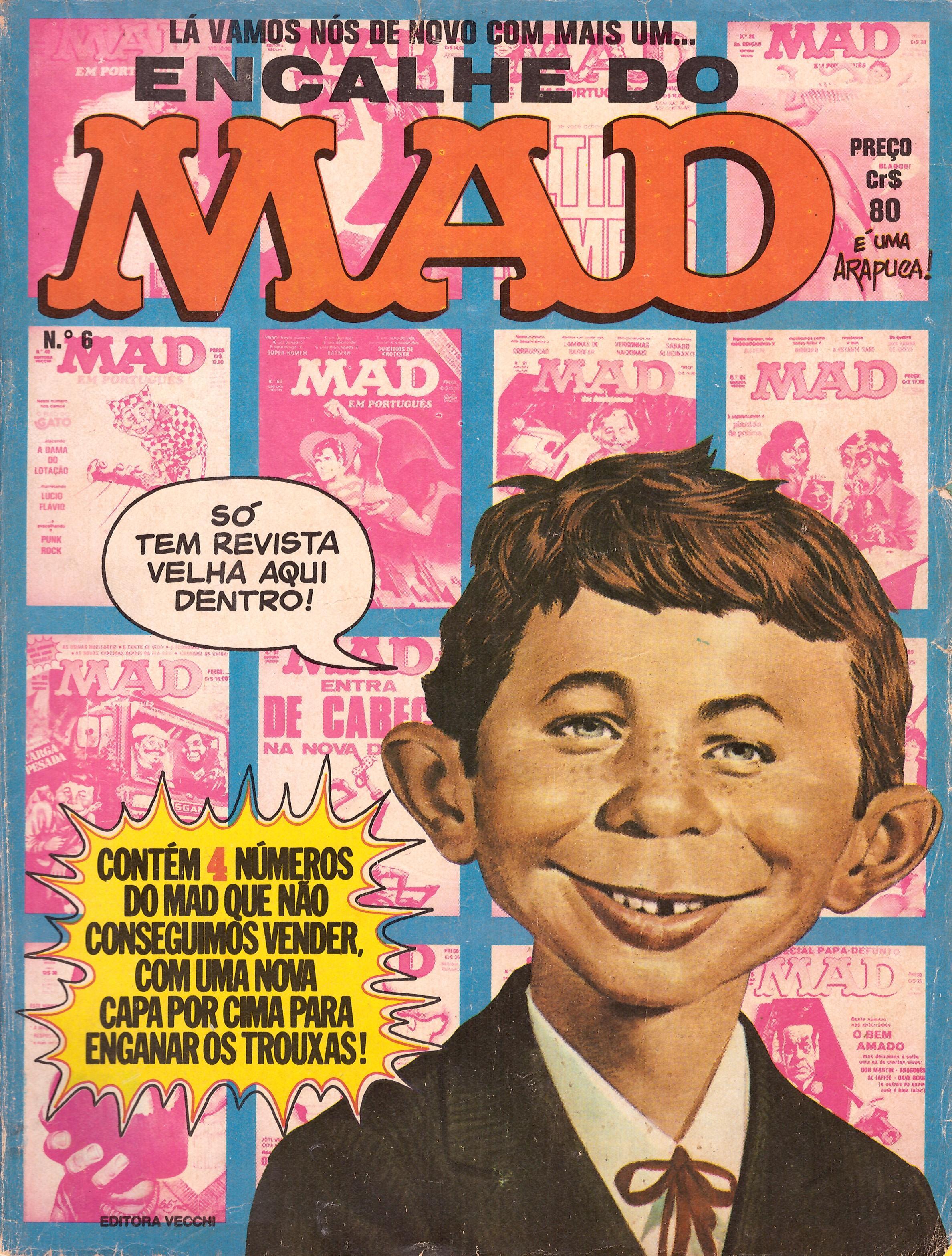 Encalhe do MAD (Vecchi) #6 • Brasil • 1st Edition - Veechi
