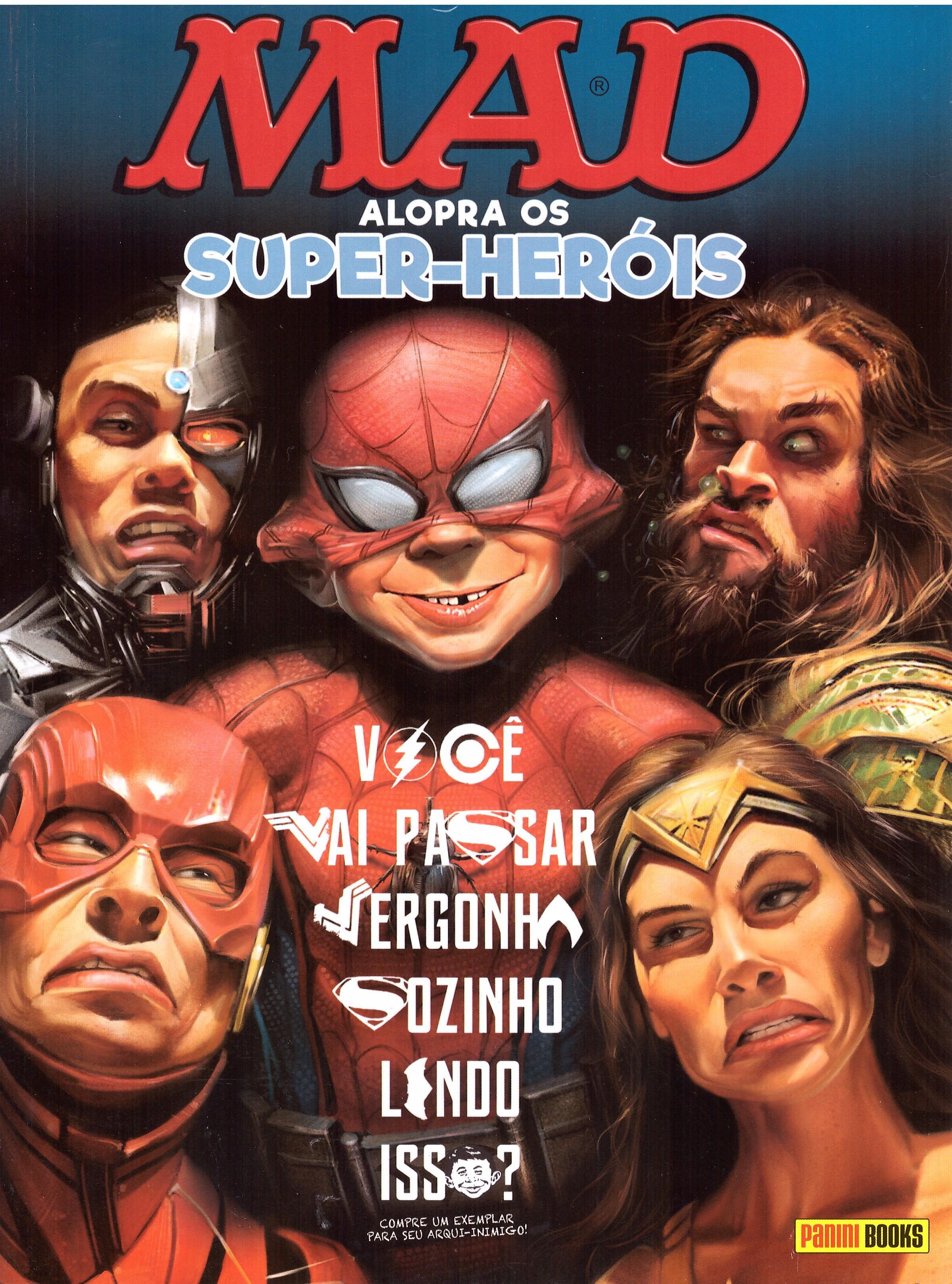 MAD Alopra Os Super-Heróis • Brasil • 4th Edition - Panini
