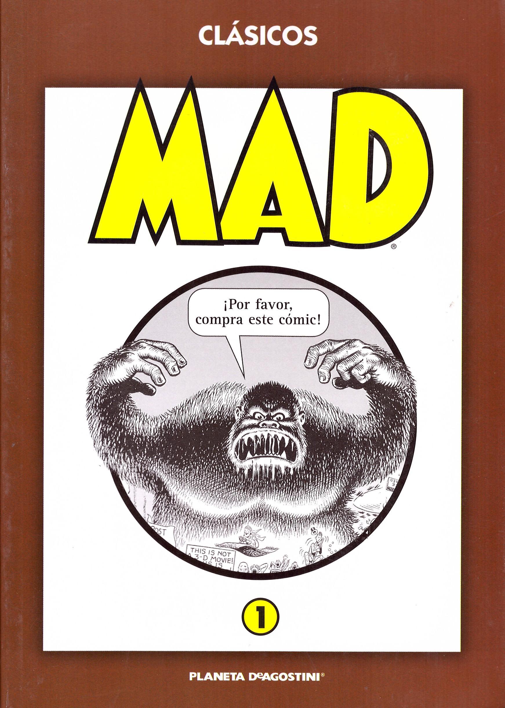 'Clásicos MAD' Paperbacks #1 • Spain • 3rd Edition - Planeta DeAgostini