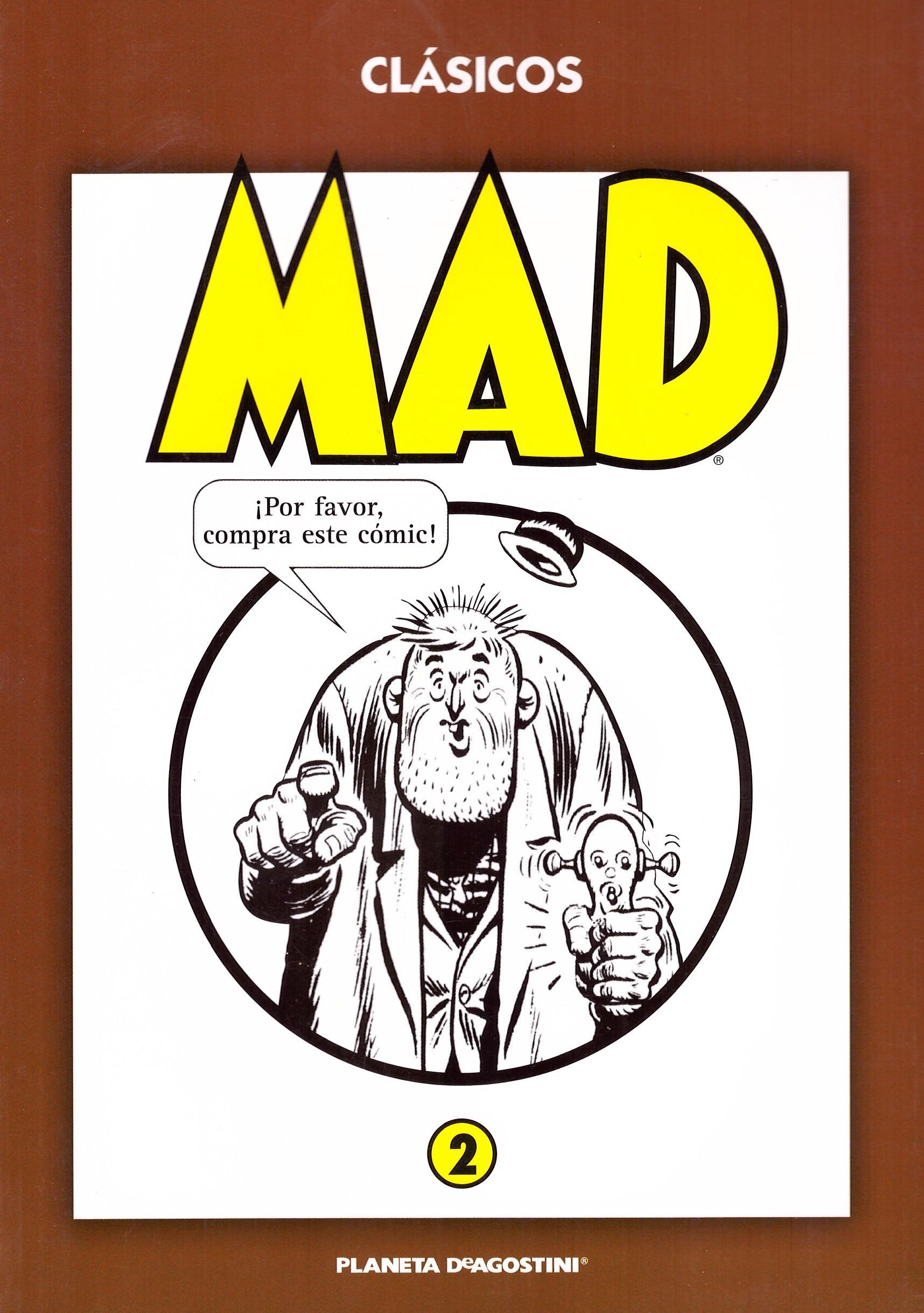 'Clásicos MAD' Paperbacks #2 • Spain • 3rd Edition - Planeta DeAgostini