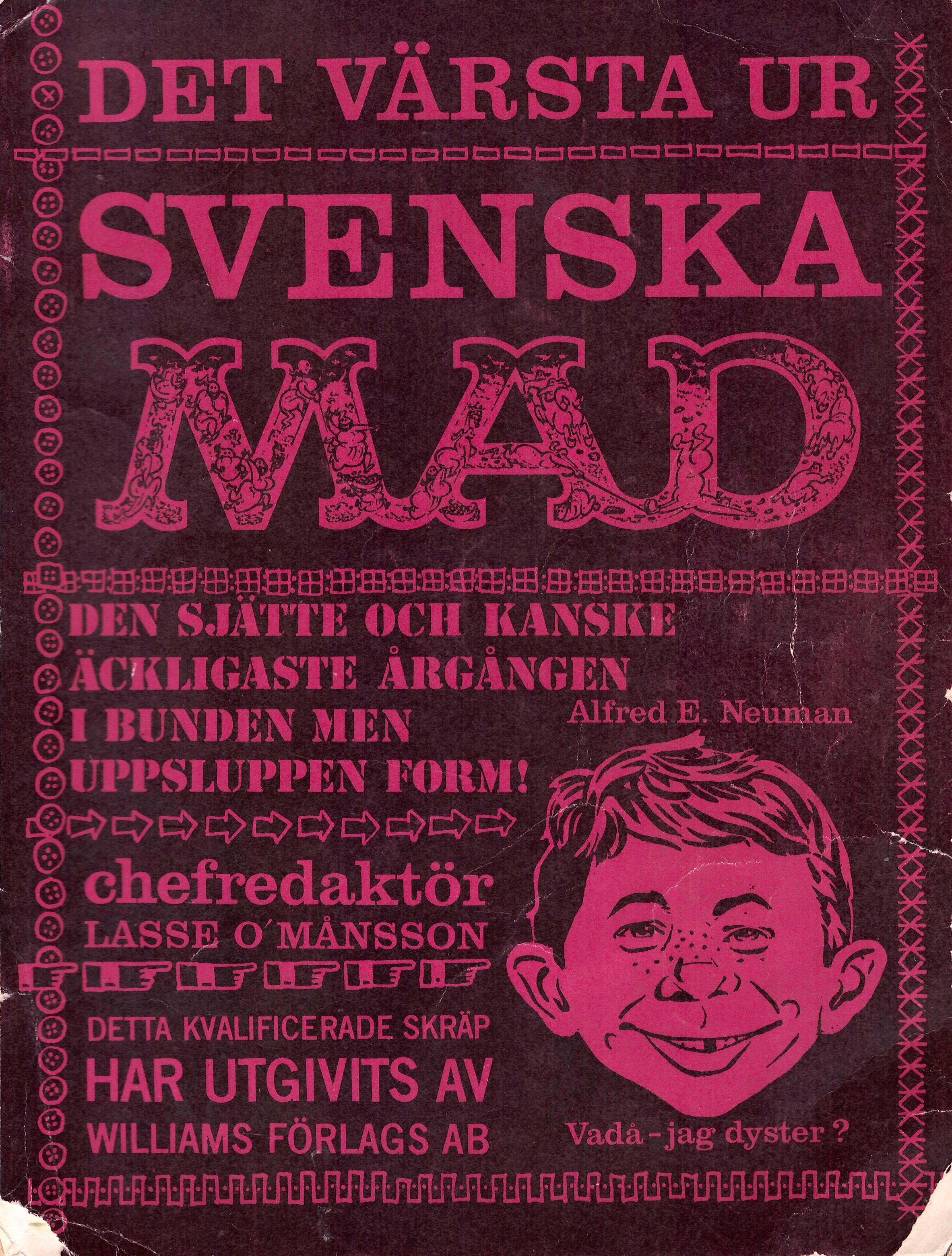 MAD Inbundna årgång #6 • Sweden