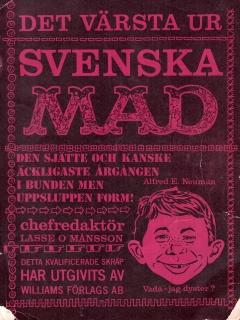 Go to MAD Inbundna årgång #6 • Sweden