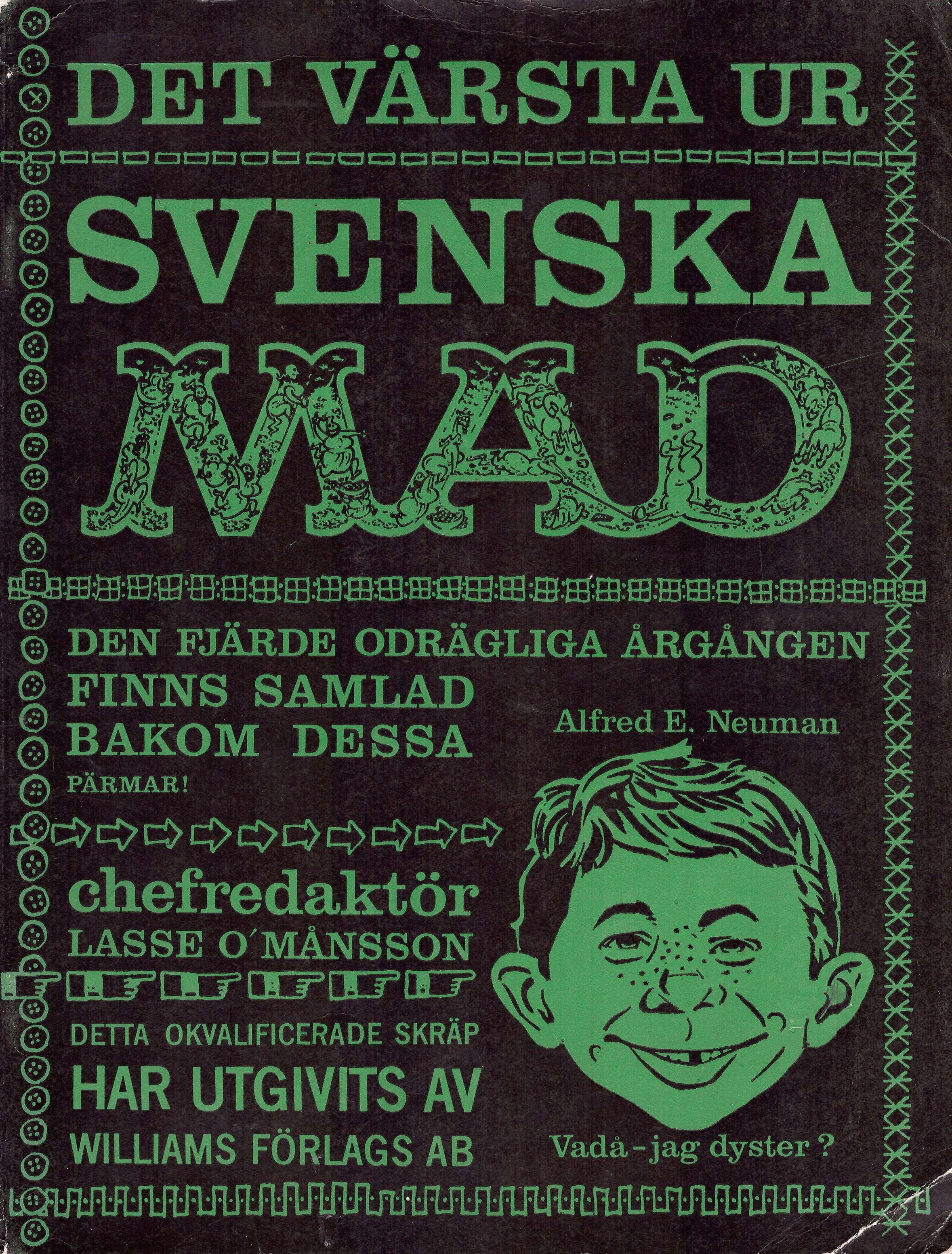 MAD Inbundna årgång #4 • Sweden