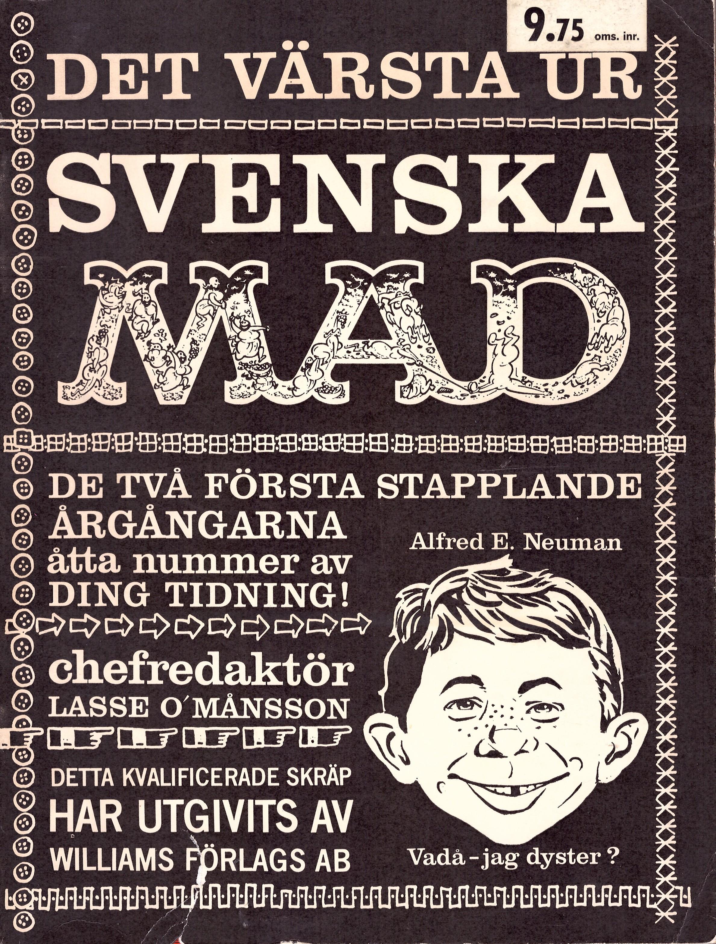 MAD Inbundna årgång #1 • Sweden