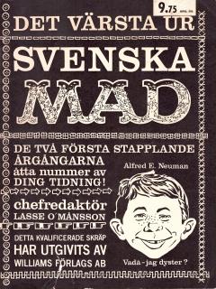 Go to MAD Inbundna årgång #1 • Sweden