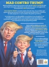 Image of MAD Contro Trump - Uno sguardo intelligente al nostro stupido presidente - Back Cover