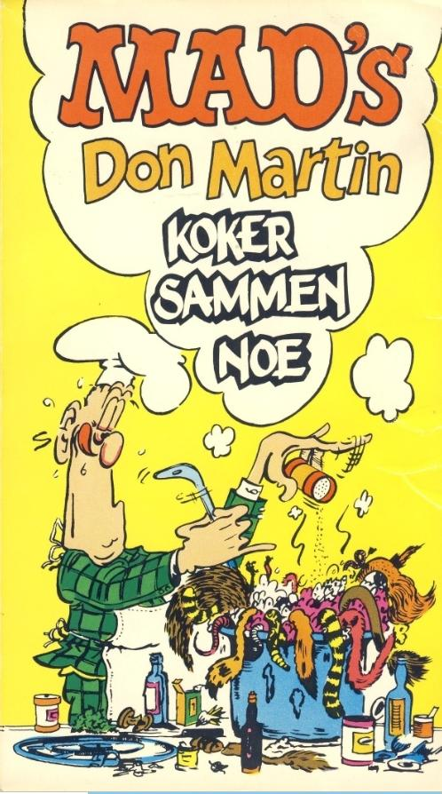 Don Martin koker sammen noe #4 • Norway • 1st Edition - Williams
