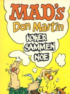 Go to Don Martin koker sammen noe #4 • Norway • 1st Edition - Williams