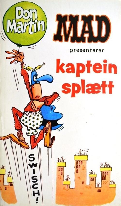 Mad presenterer kaptein splætt #5 • Norway • 1st Edition - Williams