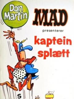 Go to Mad presenterer kaptein splætt #5 • Norway • 1st Edition - Williams