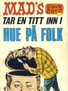Go to Mad's Dave Berg tar en titt inn i hue på #9 • Norway • 1st Edition - Williams