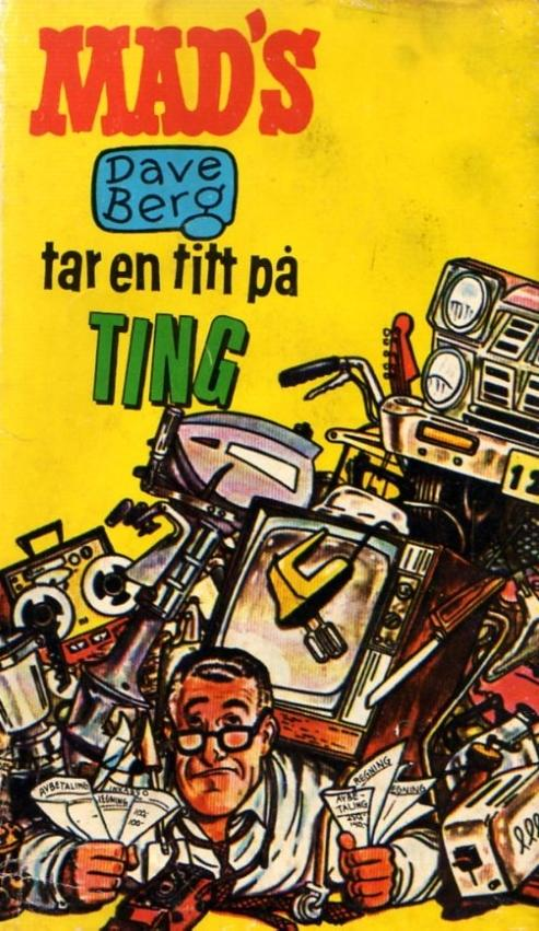 Mad's Dave Berg tar en titt på ting #12 • Norway • 1st Edition - Williams