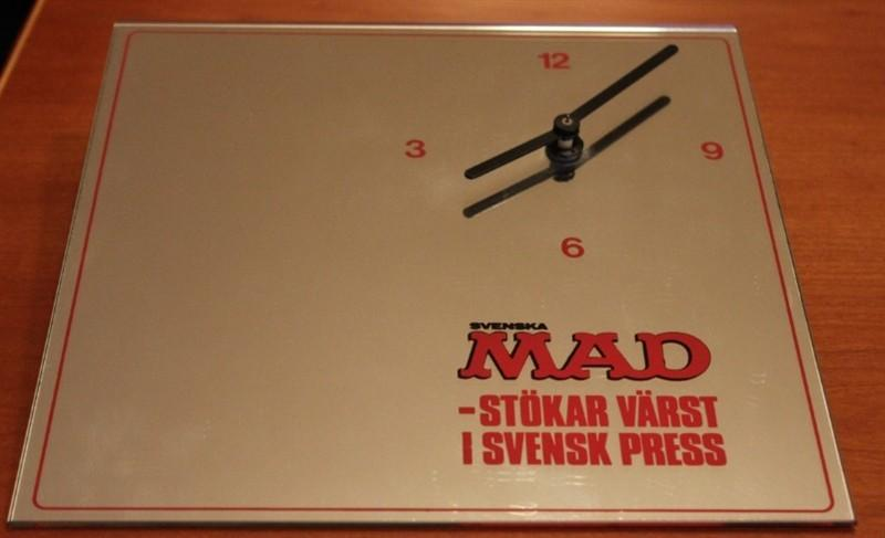 Wall Clock Svenska MAD 1984 • Sweden