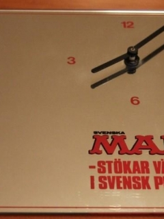 Go to Wall Clock Svenska MAD 1984 • Sweden
