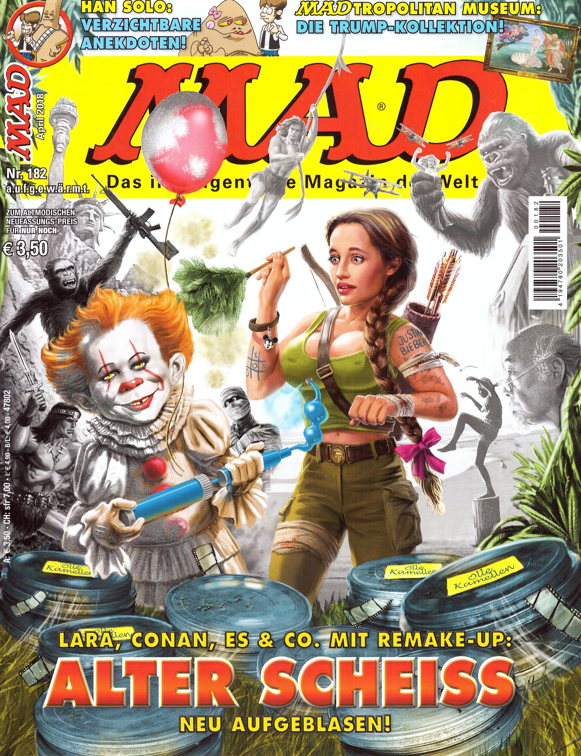 MAD Magazine #182 • Germany • 2nd Edition - Dino/Panini