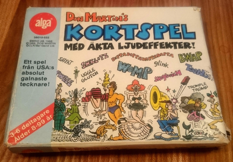 Don Martin's Kortspel • Sweden