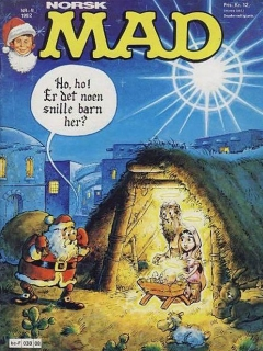 Go to MAD Magazine #8 1981 • Norway • 2nd Edition - Semic