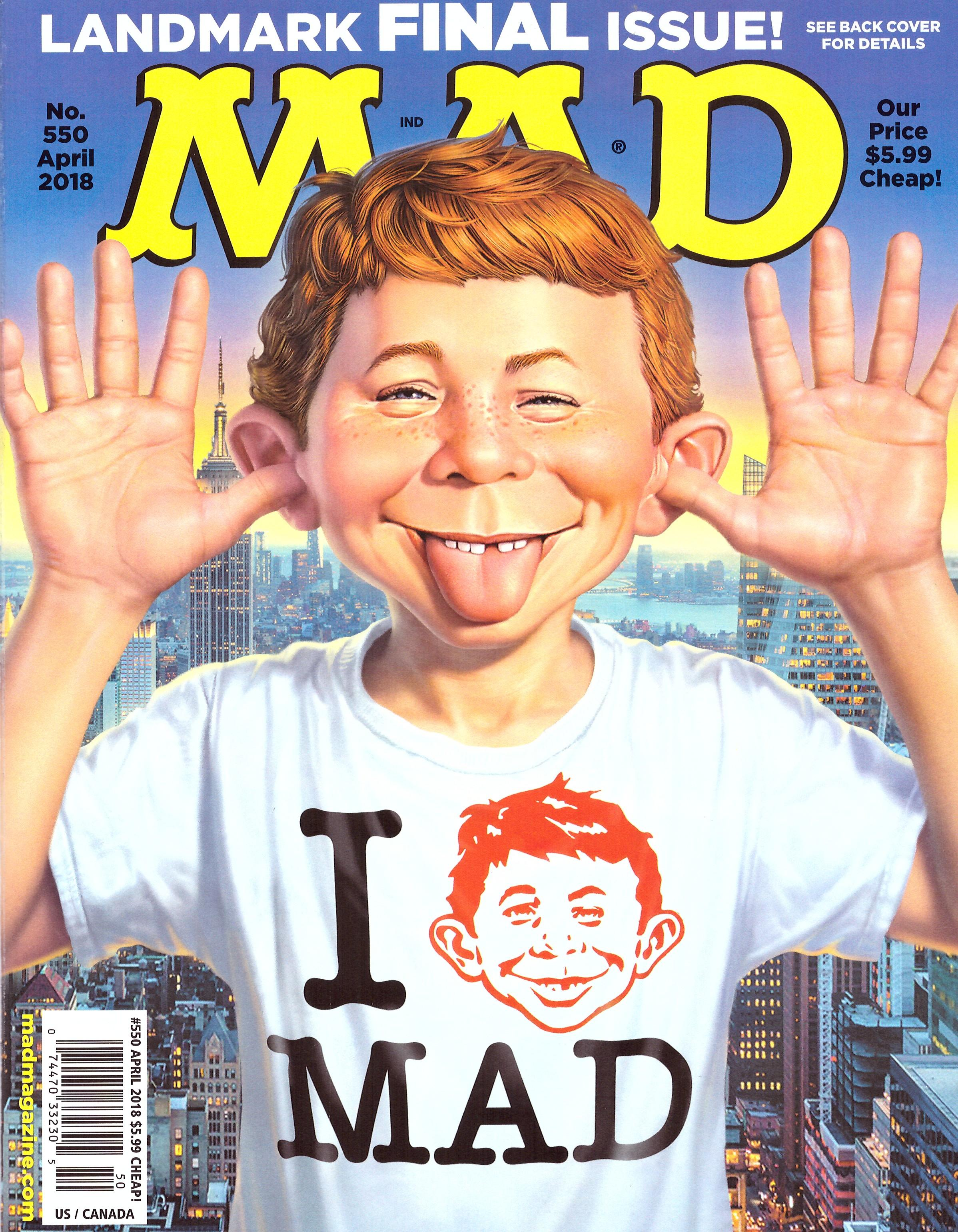 MAD Magazine #550 • USA • 1st Edition - New York