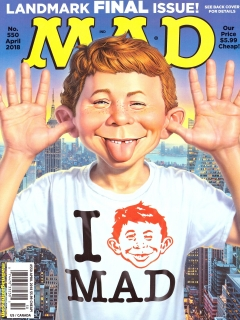Go to MAD Magazine #550 • USA • 1st Edition - New York