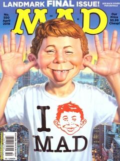 MAD Magazine #550 • USA • 1st Edition - New York