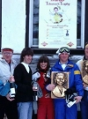 Image of Picture of the Svenska MAD ski event (3) - Attendees with their awards