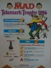 Image of Magazine ad for the ski event in a Swedish MAD magazine