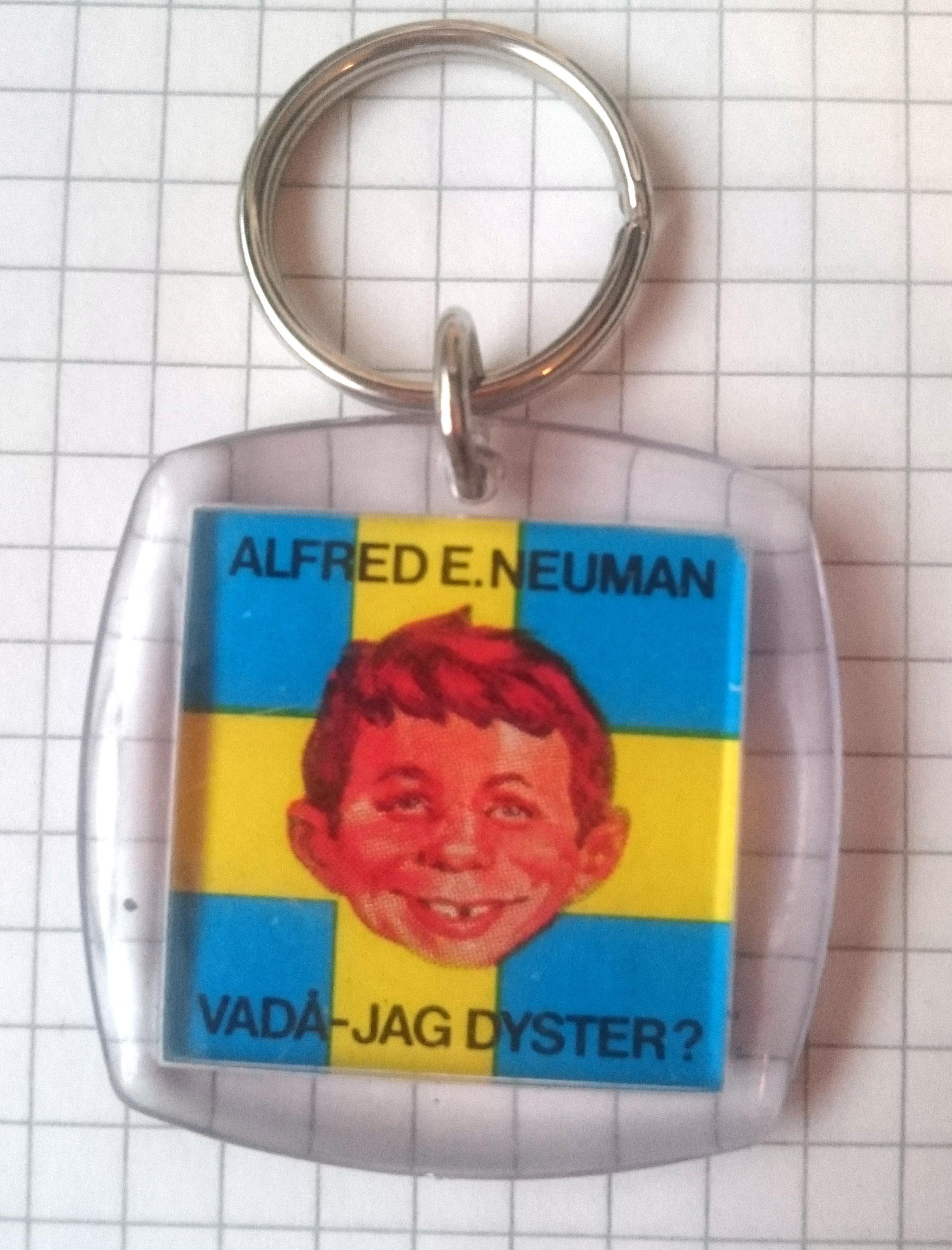 Keyring Swedish MAD Fanclub • Sweden