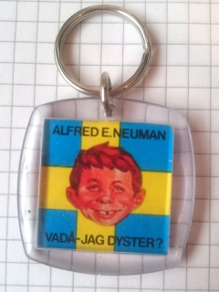 Keyring Swedish MAD Fanclub • Sweden
