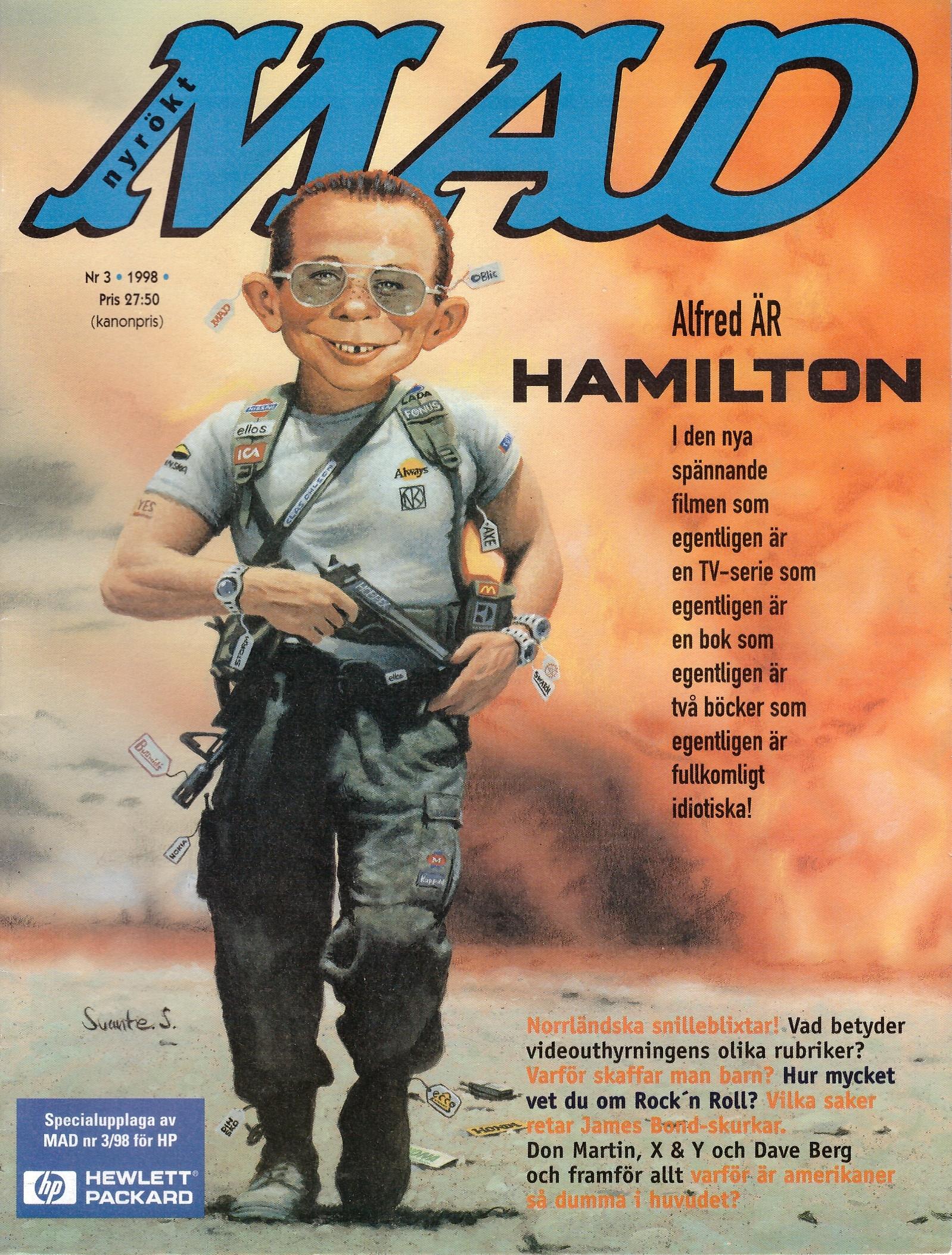 MAD Magazine #3 1997 • Sweden
