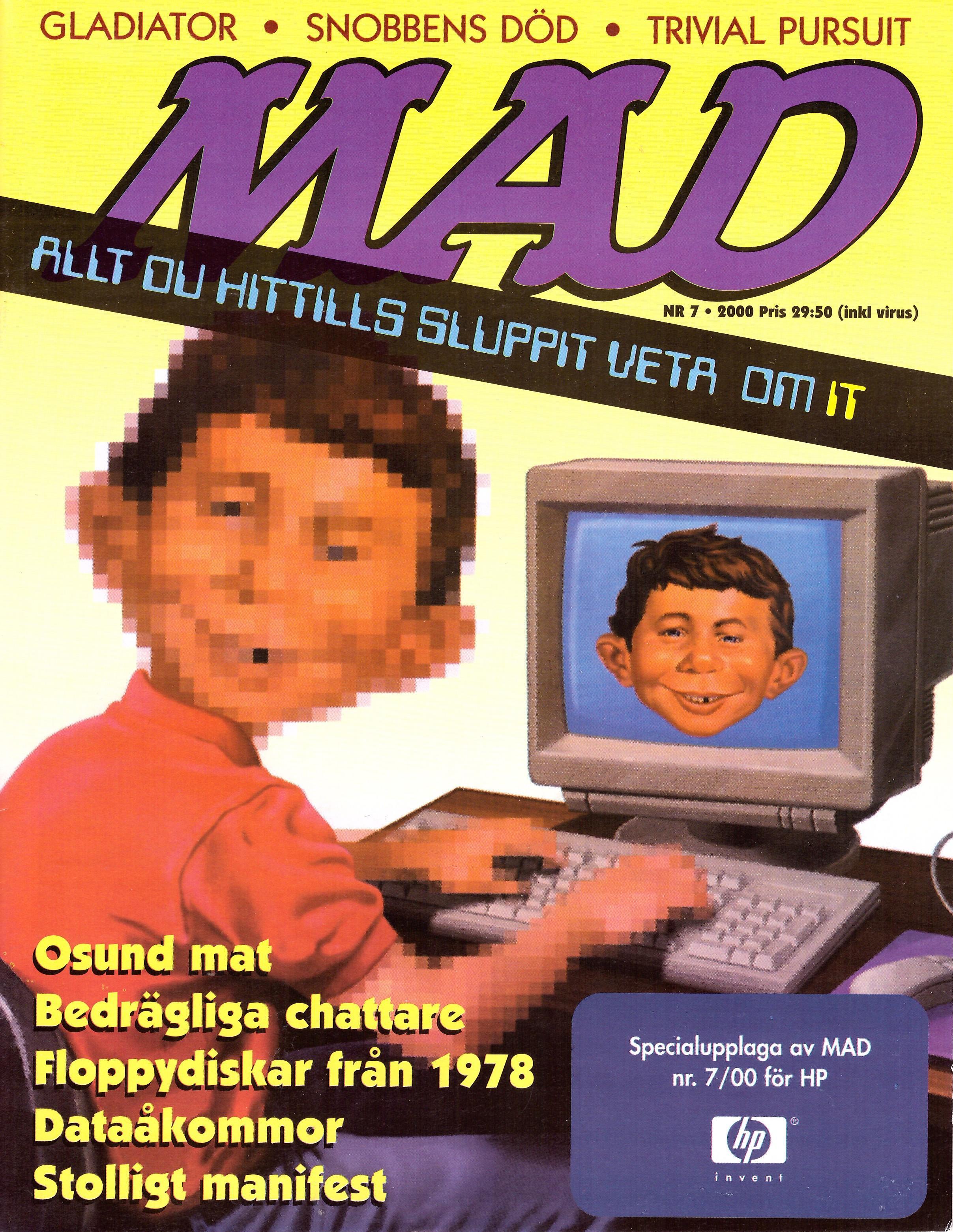 MAD Magazine #7 1999 • Sweden
