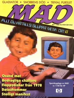 MAD Magazine • Sweden • 1st Edition